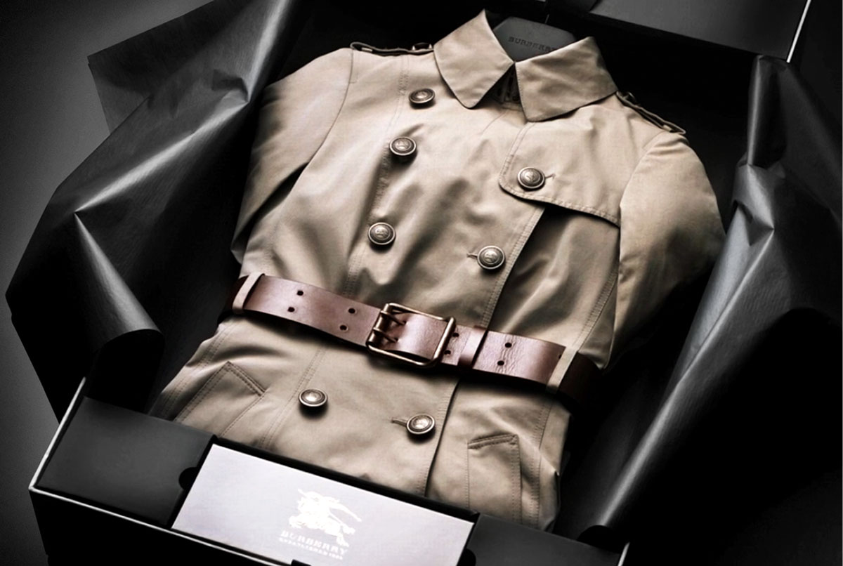 Burberry Bespoke, To view this experience kindly download the latest version of Flash